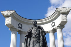 памятник moscow Александра ii к Стоковые Фотографии RF