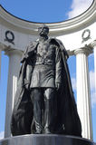 памятник moscow Александра ii к Стоковая Фотография RF