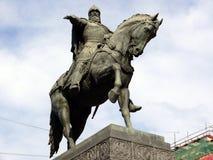 памятник moscow yuri dolgoruki Стоковые Фотографии RF