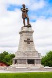 Памятник Muraviev-Amurskiy в Хабаровске Стоковое Изображение
