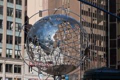 памятник New York columbus города круга Стоковое Изображение RF