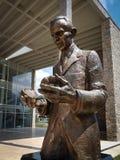 Памятник Nikola Tesla в Andricgrad стоковые фото