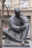 Памятник Nikola Tesla Стоковое фото RF