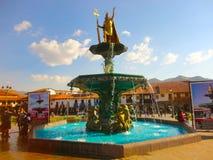 Памятник Pachacuteq Inca, Cusco Стоковое Фото