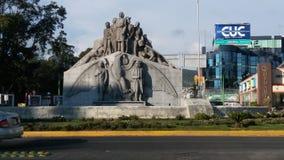 Памятник Pachuca Мексика независимости стоковые фотографии rf