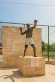 Памятник Pambele ребенк Антонио Cervantes aka в Palenque, Колумбии Стоковое фото RF