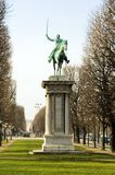 памятник paris генералитета lafayette Франции к Стоковые Фотографии RF