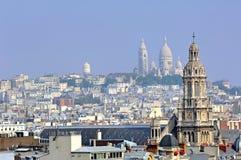 памятник paris Франции Стоковое Изображение