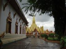 Памятник Patuxai, Вьентьян, Лаос Стоковое Изображение