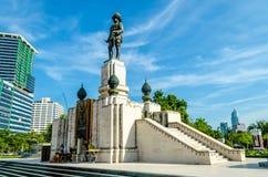 Памятник Prabat Somdej Pramongkudklao Стоковые Изображения