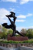Памятник Prometheus стоковая фотография rf