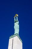 памятник riga свободы Стоковая Фотография RF