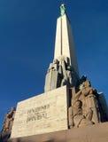памятник riga Стоковое Фото