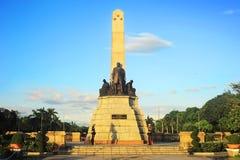 памятник rizal стоковые изображения
