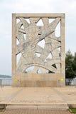 Памятник Rovinj войны Стоковые Фото