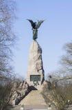 Памятник Russalka в Таллине Стоковые Фотографии RF
