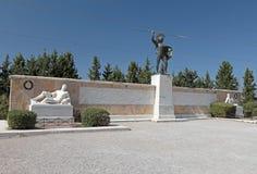 Памятник 300 Spartans Стоковое Изображение
