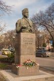 Памятник Stefan Karadja в Варне, Болгарии Стоковое фото RF