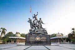 Памятник Tugu Negara, популярное туристское назначение в Куалае-Лумпур стоковая фотография