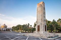 Памятник Tugu Negara, популярное туристское назначение в Куалае-Лумпур стоковые изображения
