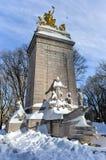 Памятник USS Мейна - Central Park, NYC Стоковая Фотография