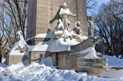 Памятник USS Мейна - Central Park, NYC Стоковое фото RF
