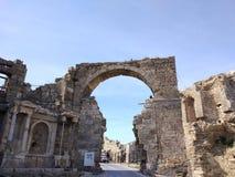Памятник Vespasianus Стоковые Фотографии RF