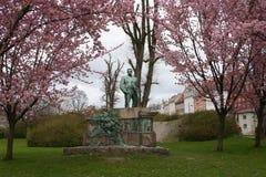 Памятник Viggo Horup Копенгагена Дании Стоковые Фото