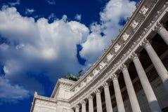 Памятник Vittoriano в Риме Стоковая Фотография