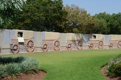 Памятник Voortrekker, external Претории стоковая фотография rf
