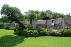 Памятник Voortrekker, external Претории стоковое фото