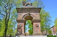 Памятник Welsford Parker Стоковая Фотография
