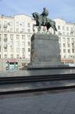 Памятник Yury Dolgoruky в Москве стоковая фотография
