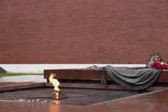 память мемориала героев Стоковая Фотография RF