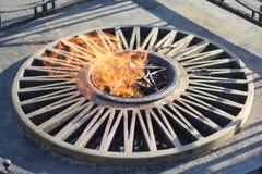 память пламени Стоковое фото RF