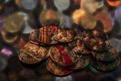Память старых монеток Стоковое Изображение RF
