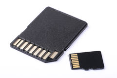 память sd карточки Стоковое фото RF