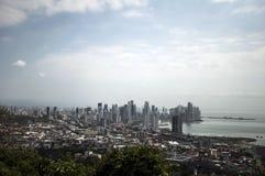 Панама (город) издалека Стоковые Фото