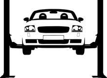 пандус автомобиля Стоковое Фото