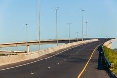 Пандус корабля моста шоссе дороги Стоковое фото RF