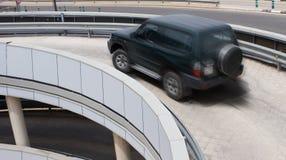 пандус стоянкы автомобилей гаража авиапорта Стоковая Фотография RF