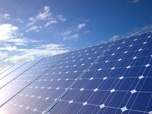 Панели солнечных батарей Стоковые Фото