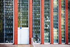 Панели стекла здания Стоковые Изображения RF