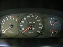 панель автомобиля Стоковое фото RF