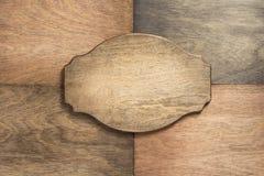 Панель знака на деревянной предпосылке стоковое изображение