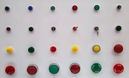 Панель кнопок стартстопная Стоковые Изображения RF