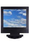 панель монитора lcd компьютера плоская Стоковые Изображения