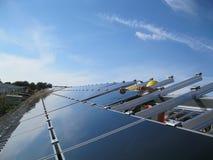 панель монтажа солнечная Стоковые Изображения RF
