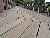 панель настила деревянная Стоковая Фотография