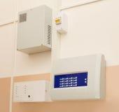 панель пожара управлением сигнала тревоги Стоковые Изображения RF